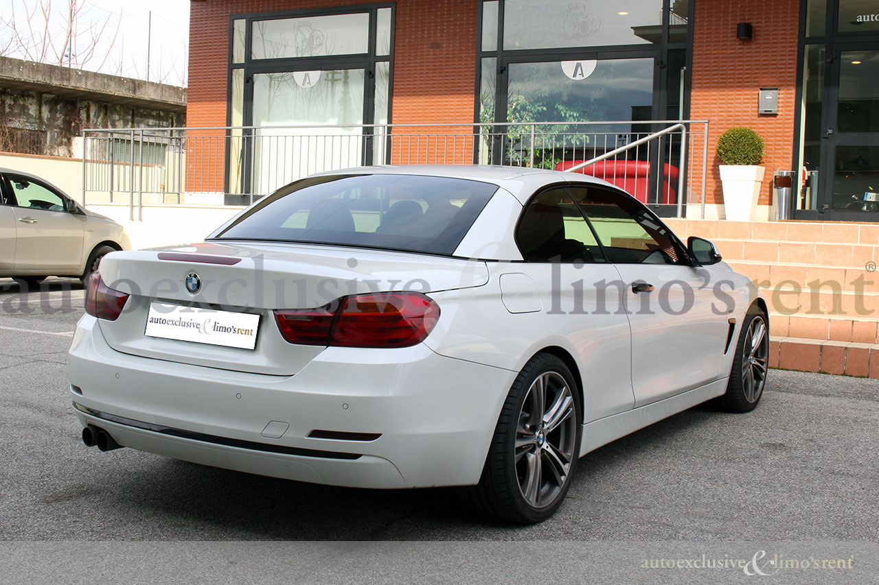 bmw 420d cabrio rif iww5185 auto autoexclusive limo 39 s rent srl. Black Bedroom Furniture Sets. Home Design Ideas