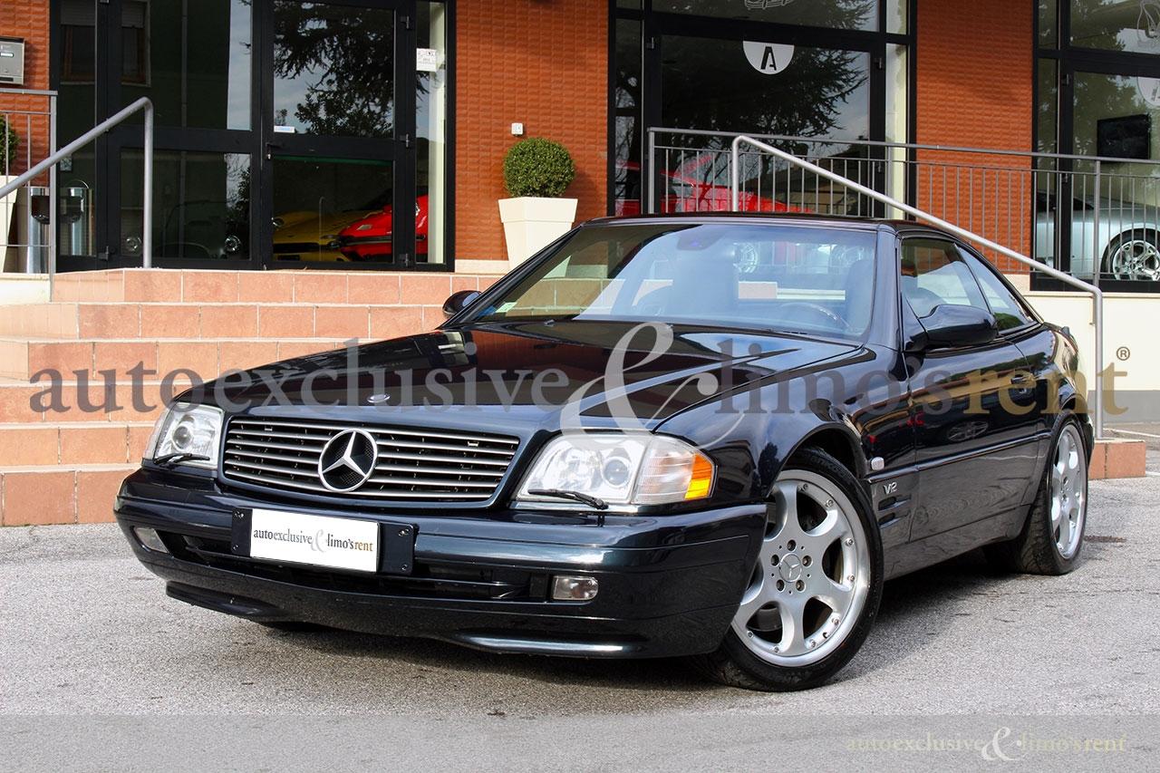 mercedes benz sl 600 v12 rif iq503 car autoexclusive limo 39 s rent srl. Black Bedroom Furniture Sets. Home Design Ideas
