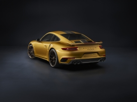 La nuova 911 Turbo S Exclusive Series